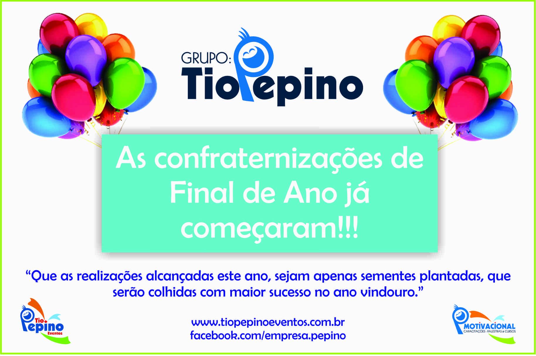 Confraternização 2013!